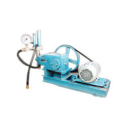 motorized pressure testing pump