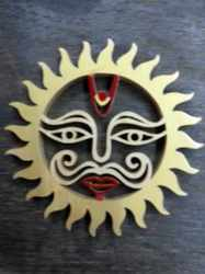 Natural Shreeparni Wood Sun ( Surya)