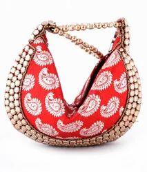 Traditional++Round+Bottom+Clutch+Bag