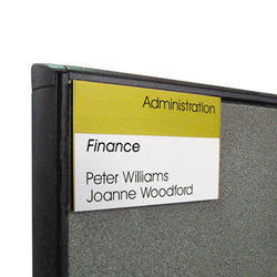 Cubicle Name Plate
