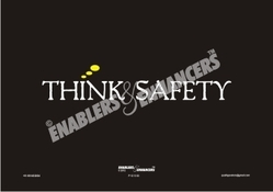 Minimalistic  Safety Posters