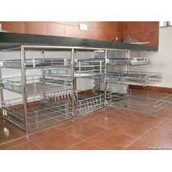 Kitchen Trolley Ss Kitchen Trolley Manufacturer From Pune