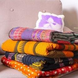Indian Cotton Kantha Quilts