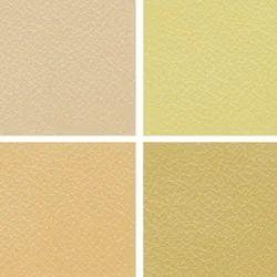 Cream Manmade Leather Cloth