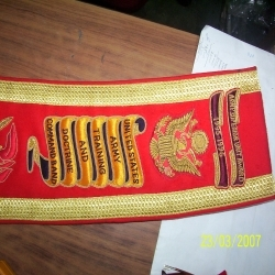 Hand Embroidery Sashes
