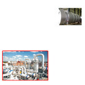 Cylindrical Storage Tank for Chemical Industry