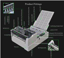 Fully Auto Vertical And Horizontal Sticker Cutting Machine