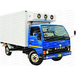 Refrigerated Trucks for Dairy