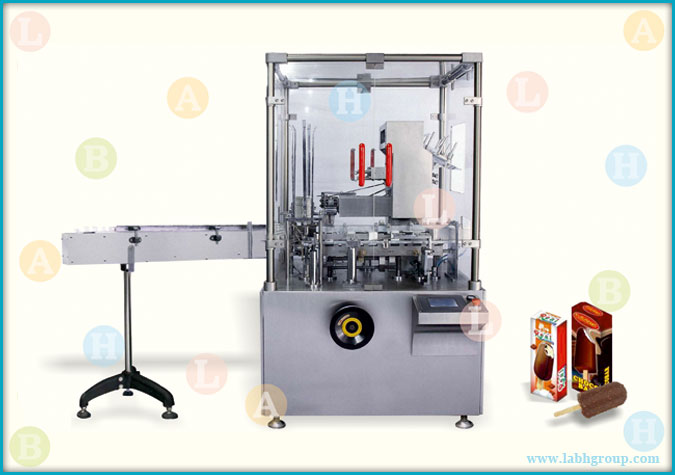 Automatic Folding Carton Packaging Machine for Ice Cream Candies
