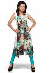 Ladies Kurti Indo Western Style Long Party Wear Kurti