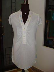 Cotton White Tunic