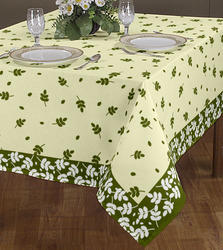 Printed Border Tablecloth