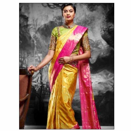 how to wear saree to varamahalakshmi