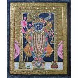 Srinathji Tanjore Painting