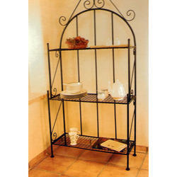 Wrought Iron Vertical Rack Stand
