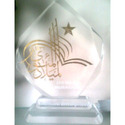 Acrylic Glass Trophies