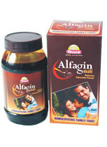 Wheezal Homeopathy Alfagin Malt Family Health Tonic