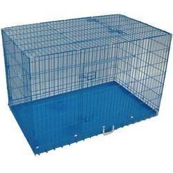 blue dog cage