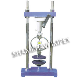 Unconfined Compression Test Apparatus - Hand Operated
