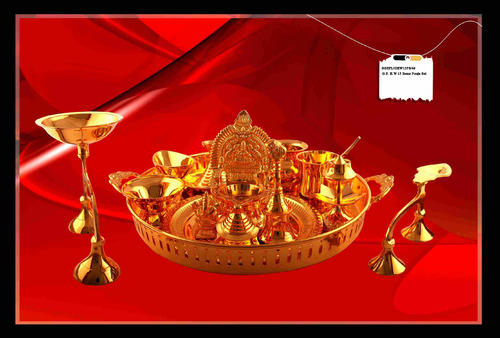 Gold Plated Pooja Items  sc 1 st  IndiaMART & Gold Plated Pooja Items u0026 Gold Plated Engraving Lamps Exporter from ...