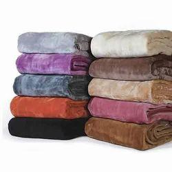 Dyed Mink Blanket