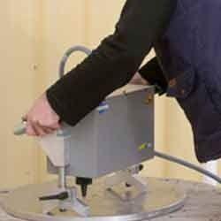 Electromagnetic-Deep Marking Portable Machine