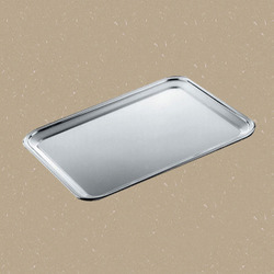 Rectangular Steel Snack Tray