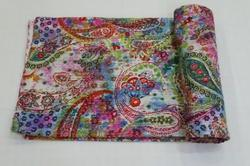 Kantha Tie Dye Bed Cover
