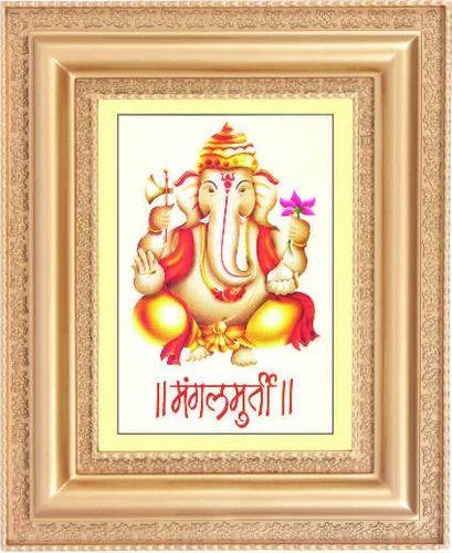 Scenery Ganesh Ji Poster