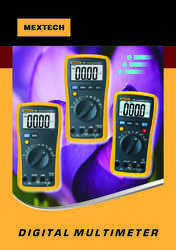 Digital AC DC Multimeters