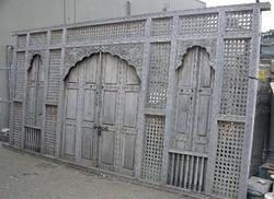 Antique Partition Screen