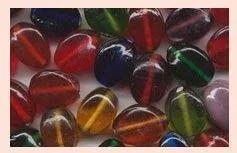 Glass Fancy Beads CODE : PBM-07