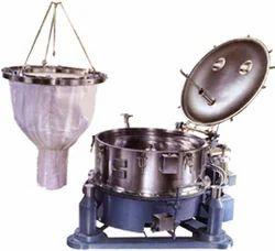 Basket Centrifuge with Bag Lifting arrangement