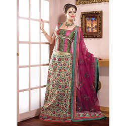 Beautiful Rasham Work Lehenga