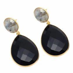 Black Onyx Earring