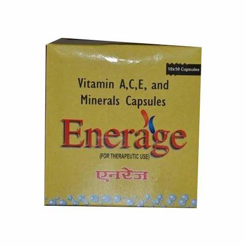Vitamin A,C,E and Minerals Capsules