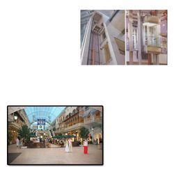 Hydraulic Elevator for Shopping Mall