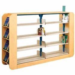 Corner Library Racks