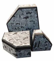 diamond shaped gift box