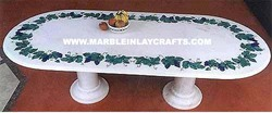 Marble Inlay Pietra Dura Table