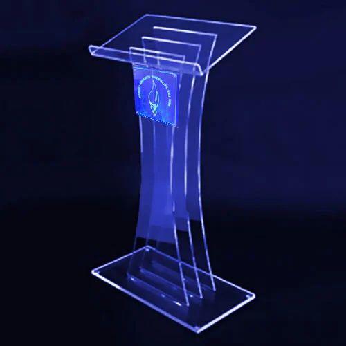 acrylic podium acrylic plexiglass podium manufacturer. Black Bedroom Furniture Sets. Home Design Ideas