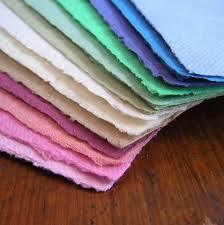 Deckle Edged Handmade Paper Visiting Cards, Business Cards