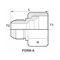 Reducing Adapter (Form-A)
