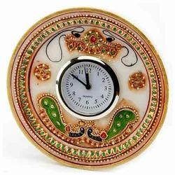 Marble Watch Round Shape