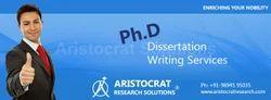 Dissertation Proposal Writing