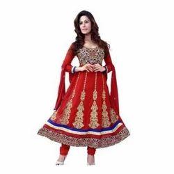 Semi Stitched Anarkali