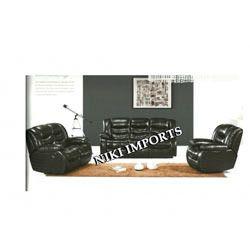 Daffodil Bonded Sofa Set - Leather Type