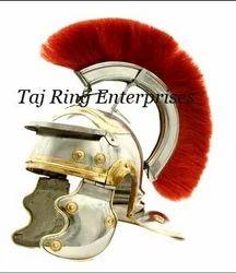 Roman Helmet With Plume
