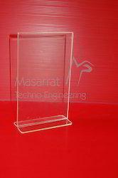 Acrylic - Horizontal Tent Card Holder