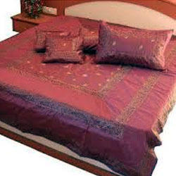 Fancy Silk Bed Sheet